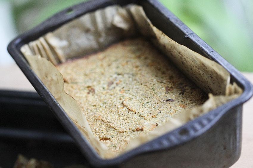 Sweet Potato Seed Roast Loaf (nut roast alternative) - gluten-free & vegan by Anastasia, Kind Earth